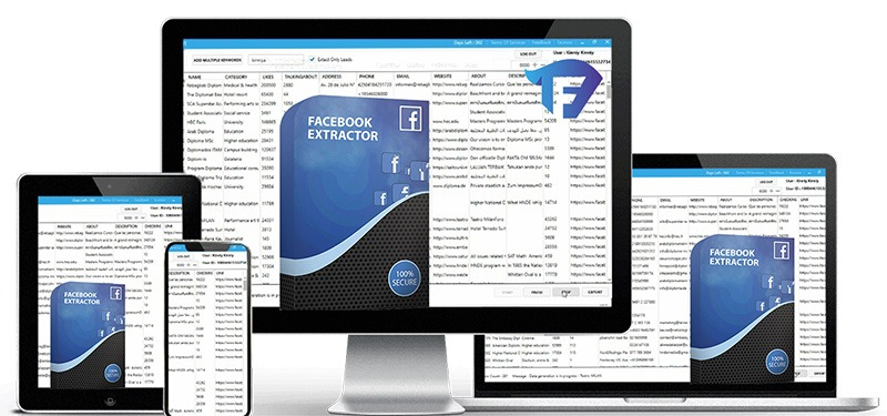 Facebook Email extractor